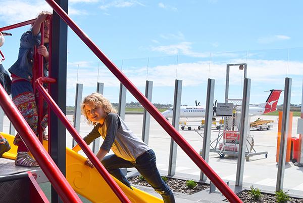 Playground at Wellcamp Airport