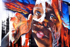 Stunning street art in Toowoomba by Adnate