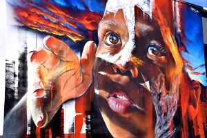 Stunning street art in Toowoomba