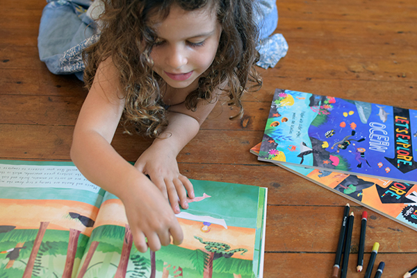 Sugarpuff loves Lonely Planet Kids Let's Explore series