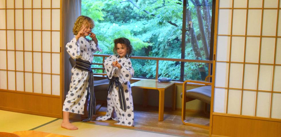 Rockin' the ryokan