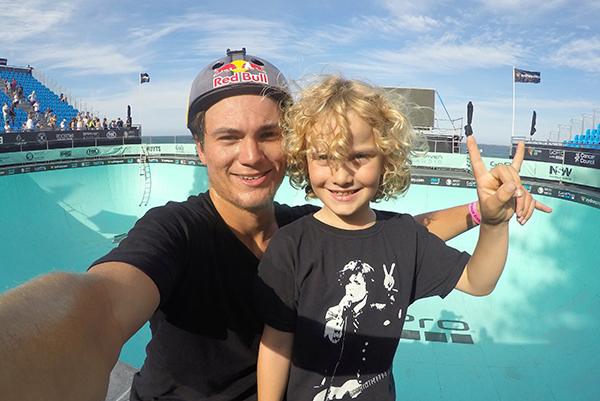 GoPro Ambassador & Pro Skater Alex Sorgente with Raffles