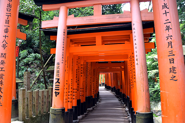 Kyoto: Fushimi Inari with kids