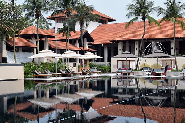 Poolside Sofitel SIngapore Sentosa Resort & Spa