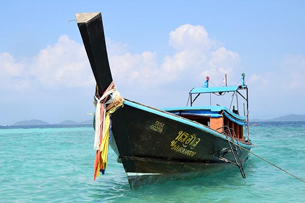 Long boat in Koh Khai Nok, Phuket