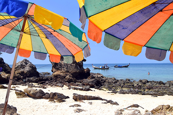Sun, sea and sand on Koh Kha Nok, Phuket