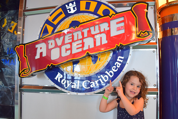 Adventure Ocean Kids Club. Explorer of the Seas for kids