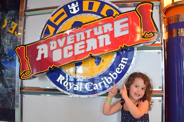 Adventure Ocean Kids Club. Explorer of the Seas for kids