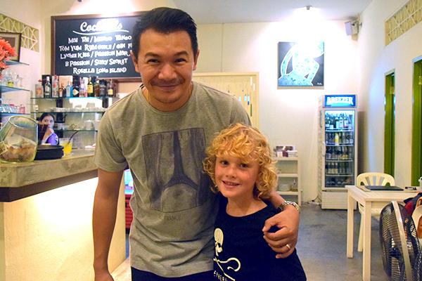 Raffles and Chef Noi at Suay Restaurant Phuket