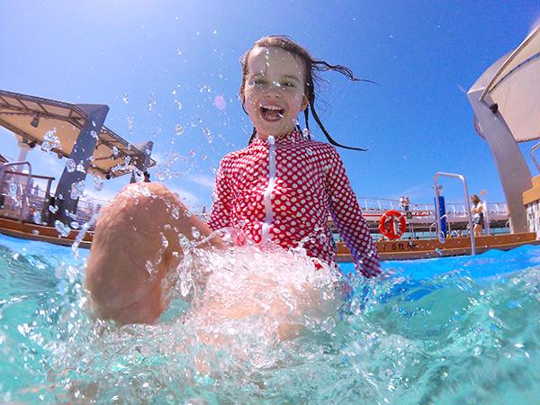 Pool fun on Explorer of the Seas