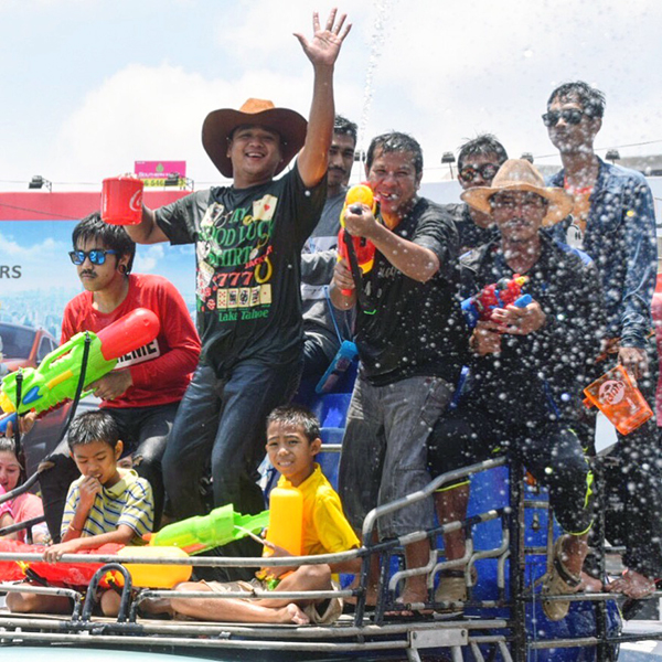 Songkran gets festive in Old Phuket Town