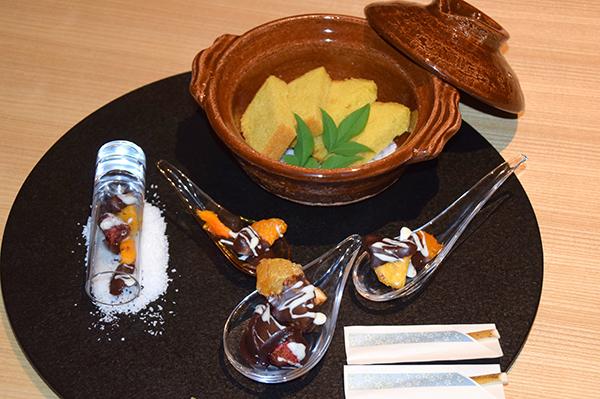 Welcome treats at Aman Tokyo