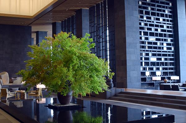Ikebana at Aman Tokyo