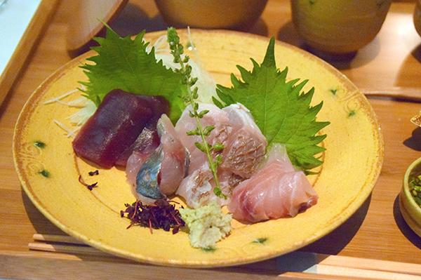 Multi course Kaiseiki meal at Aman Tokyo
