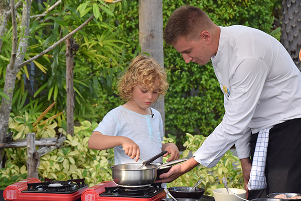 Rafles and Chef Cyril cooking up a storm at Novotel Phuket Karon Beach