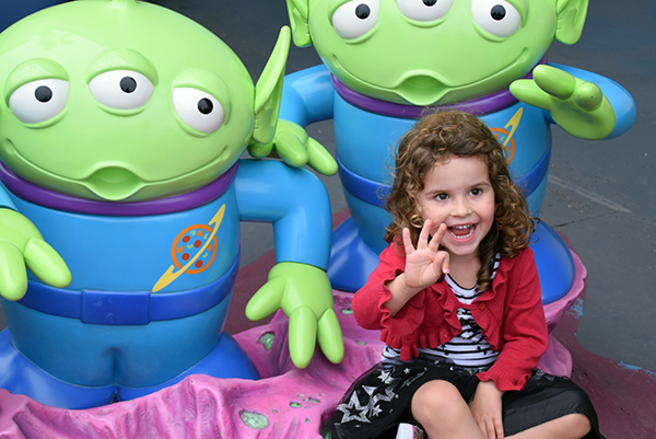 New pals from PIzza Planet at Buzz Lightyear's Astro Blaster: Tokyo DIsneyland