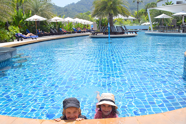 Lagoon pool at Novotel Phuket Karon Beach Resort and Spa