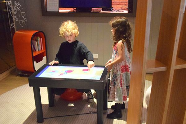 Kids corner at Novotel on DArling HArbour