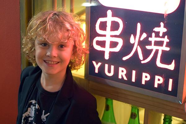 Raffles at Yakitori Yurippi