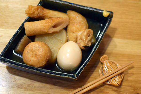 Oden - Japanese Winter stew at Yakitori Yurippi