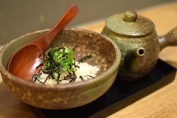 Ochazuke at Yakitori Yurippi