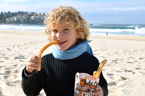 CHurros from San Churro Bondi Beach
