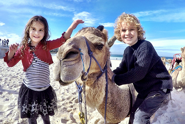 CAmels at Bondi for BOndi WInter Magic