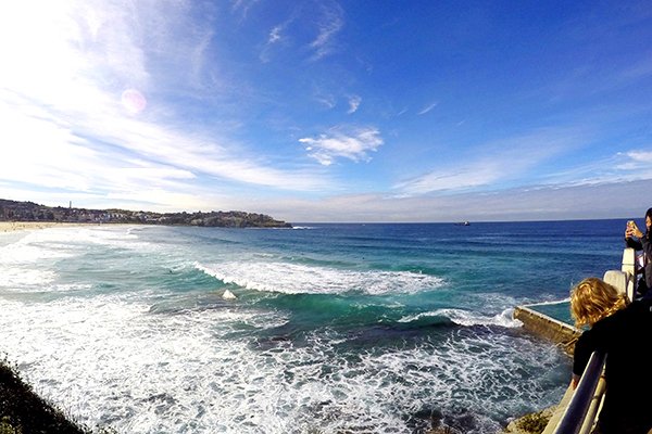 View from Bondi to Bronet Walk.