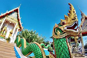 stunning Wat Suwan Khiri Khet, Karon Temple, Phuket