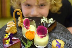 Raffles is ready for High Tea at Radisson Blu Plaza Hotel Sydney