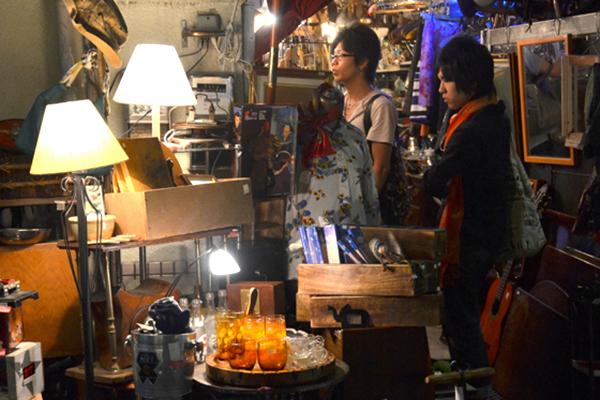 Shimokitazawa vintage shopping