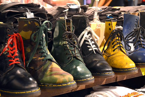 Docs on display at Shimokitazawa