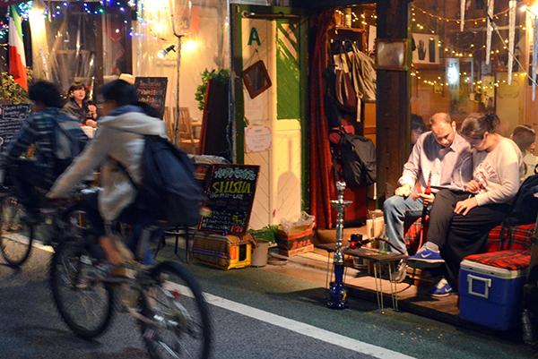 Shisha bar in Shimokitazawa