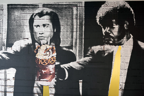 Artwork at Pastissez Canberra