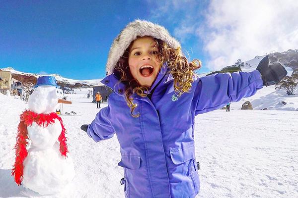 SNow much fun at Charlotte Pass Ski Resort