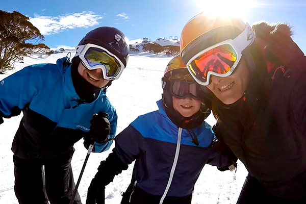 Family ski holiday hacks - Wear helmets when you ski