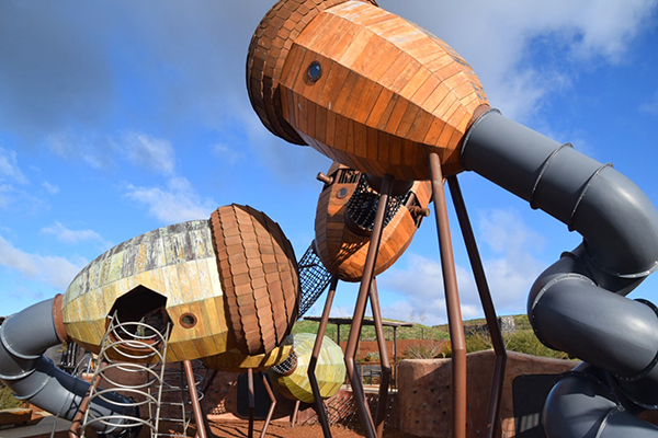 Canberra cool for kids: The POD at the National Arboretum, Canberra