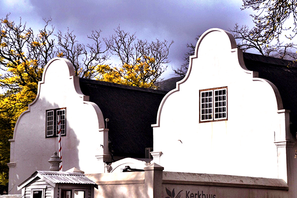 Cape Dutch Architecture in Stellenbosch