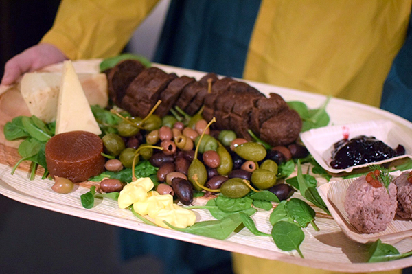 The cheyse platter at St Ives Medieval Faire - Medieval Feast
