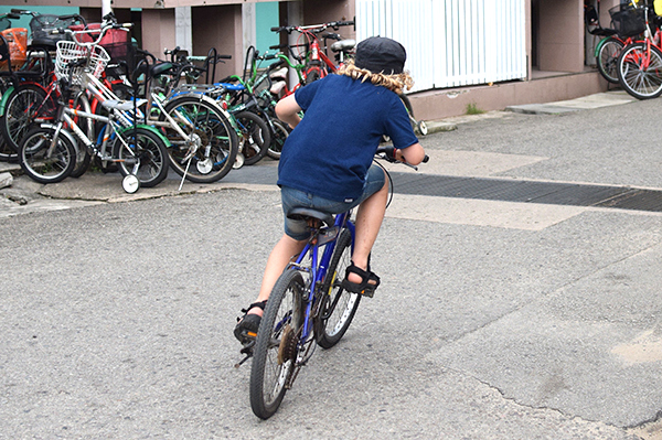 Adventures in Singapore for kids: Mountain Biking on Pulau Ubin