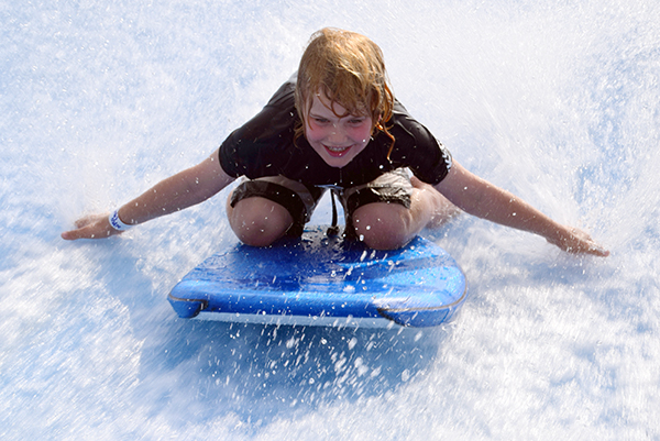 Adventures in Singapore for kids: Wave House Surfing