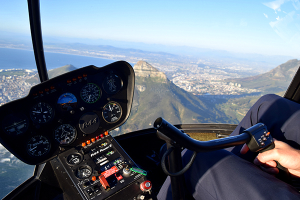 Cape Town by helicopter