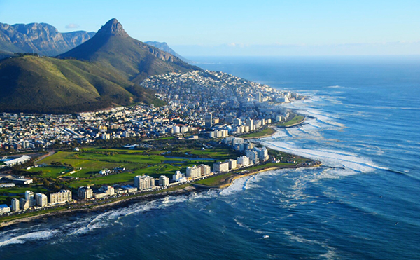 Cape Town by helicopter with NAC helicopters