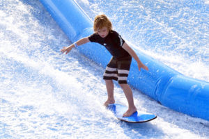 Adventures in Singapore with kids: Wave House Surfing