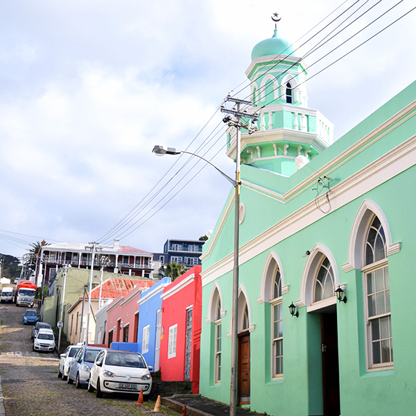 Boorhaanol Islam Mosque in Bo Kaap Cape Town