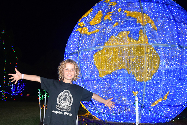 Around the world at Hunter Valley Gardens Christmas Light Spectacular