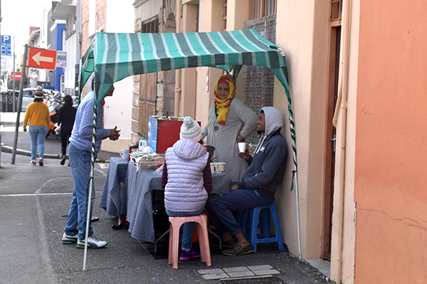 Street Vendor in Bo Kaap Cape Town