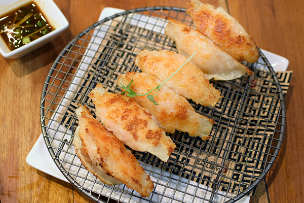 Pan Fried Pot Stickers at Chef's Gallery
