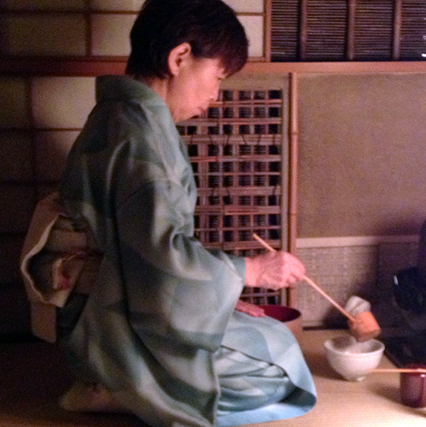 Tea ceremony Japan