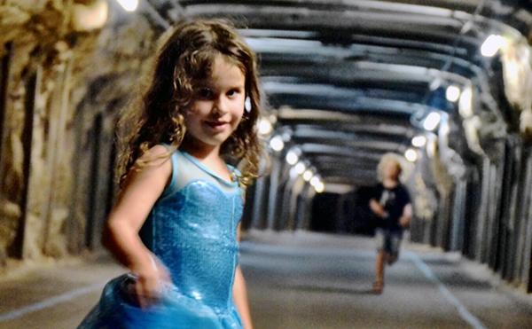 COckatoo Island's tunnels